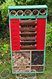 Insect Hotel Ocean Blue: 4ft High, XXL Front...