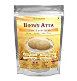 #3: NutroActive Brown Atta 1 kg Low Carb Flour, Multigrain Atta for Slimming