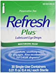 Sterile Single-Use Containers. For mild to moderate dry eye including Lasik dryness (If used for post-operative [e.g. Lasik] dryness and discomfort, follow your eye doctors instructions.). Refresh Brand is the no. 1 doctor recommended (Verispans Phys...