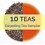 10 EXOTIC DARJEELING, Premium Tea Sampler - Includes Exotic 2016 Harvest Loose Leaf Teas - First Flush, Second Flush & Autumn Flush Season Darjeeling Teas - 0.35oz *10 Teas Each - From India