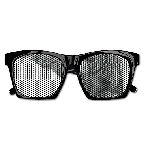 EELKKO Mesh Sunglasses Sports Polarized, Black and White Pencil Drawing Style Eagle with Detailed Features Wild Nature,Fun Props Party Favors Gift Unisex