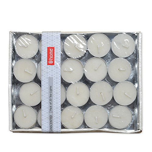 @home Scented Round Wax Tea Light (7 cm x 7 cm x...