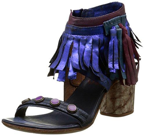AirstepSou - Sandali alla caviglia Donna , Blu (Blu (Blu)), 36