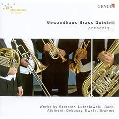 Brass Quintet, Op. 65: III. -