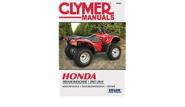 honda trx420 rancher 2007 2014 does not include information rh amazon in
