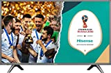 "Hisense H60NEC5605 TV LED Ultra HD 60"", Piattaforma SMART VIDAA U, HDR, Sistema Audio dbx-tv, DVB-T2/S2 (HEVC)"