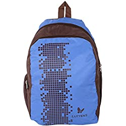 Lutyens Blue Brown School Bags (Lutyens_102)