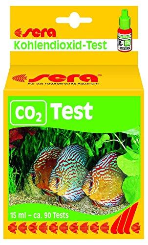 sera 04320 CO2-Dauertest 15 ml - für ca. 90 Befüllungen, zur permanenten Kontrolle des CO2-Gehaltes - CO2 immer im Blick im Aquarium
