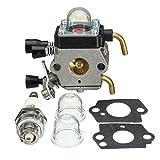 GOZAR Carburateur Carb pour Le Taille-Haie Hs45 Stihl Fs38 Fc55 Fs310 Zama C1Q-S169B