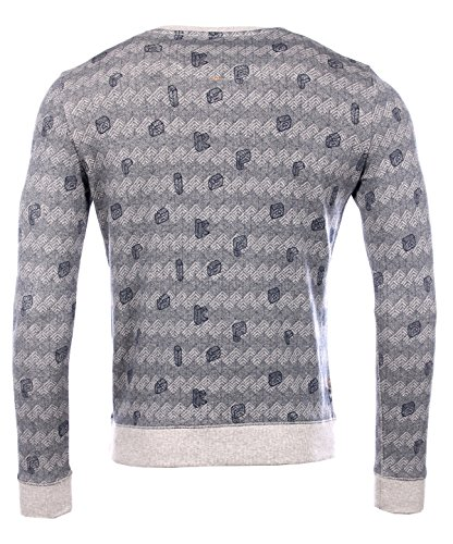 Kaporal 5 Sweatshirthirt Dower Light Grey Mel Gris