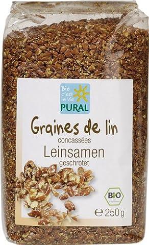 Pural Leinsamen geschrotet - 250 g Bio (Leinsamen Geschrotet)