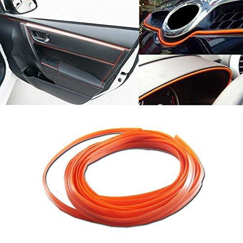 Panniuzhe 3D-Zierleisten-Aufkleber, für Autos, Motoren, den Innen- und Außenbereich