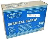 100cuchillas quirúrgico Fig. 12cuchillas de bisturí estéril Lames des bistouris steriles hojas de Bisturies esteriles Lame da bisturi sterili