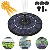 AimTop - Fontana a energia Solare per laghetto, con Pompa ad Acqua, 2,5 W, monocristallino, a energia Solare, Galleggiante, Pompa per laghetti da Giardino o fontane a zampillo