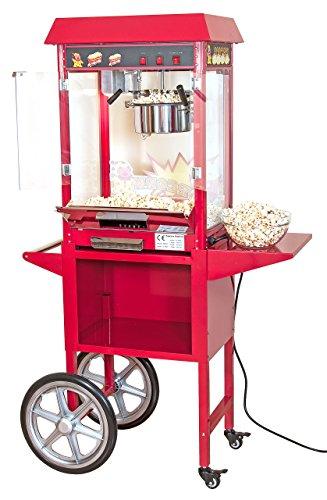 Popcornmaschine mit Wagen, 2-teilig - 2