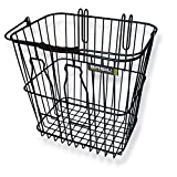 Basil Fahrradkorb Bottle Basket, Black, 35 x 29 x 34 cm
