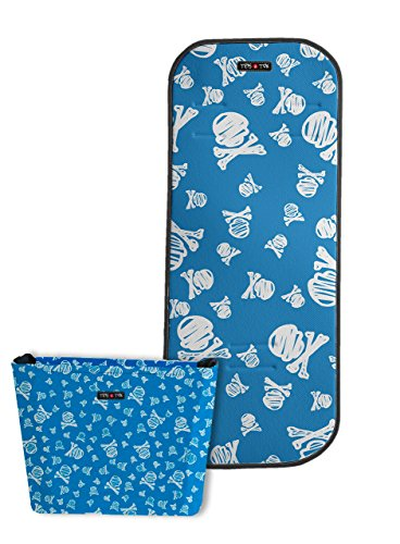 Tris & Ton conjunto colchoneta + bolso cochecito sillita paseo transpirable de microfibra bebe niño...