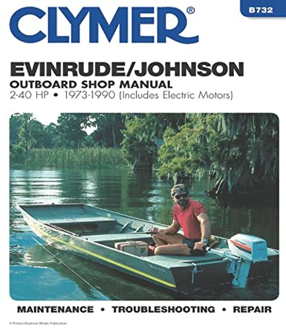 Evinrude/Johnson 2-40 HP OB 73-1990 (Clymer Marine Repair Series)