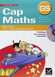 Cap Maths GS éd. 2015 - Guide de l'enseignant (+ CD-Rom)