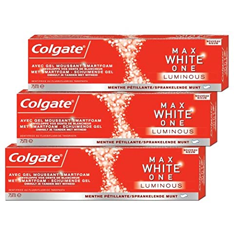 Colgate Maxwhite One Luminous Dentifrice 75 ml Lot de 3