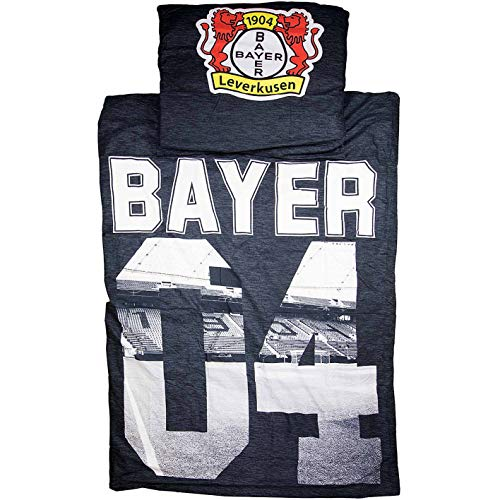 Bayer 04 Leverkusen Bettwäsche 135x200 + 80x80 (one Size, Multi)