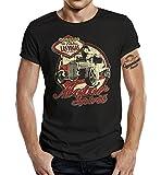 GASOLINE BANDIT® Biker T-Shirt: Motor Spirit-XXXXL
