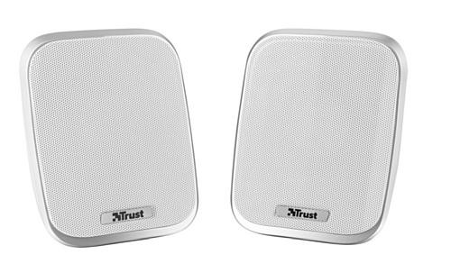 Trust Porto - Set de altavoces de ordenador (2.0, 12 W, alimentados...