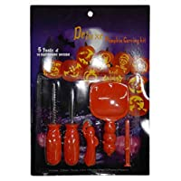 Islander Fashions Halloween Party Pumpkin Carving Toys Kit Unisex Fancy Dress Party Accessories One Size