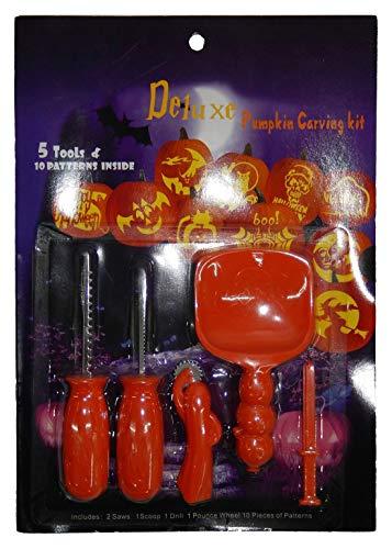 Islander Fashions Halloween Party K�rbis Carving Spielzeug Kit Unisex Kost�mfest Zubeh�r One Size