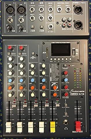 Studiomaster Club XS-6 6 Channel