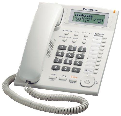 Panasonic KX-TS880 - Teléfono fijo con cable LCD