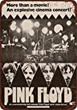 metal Signs Blechschild 1972 Pink Floyd The Movie Vintage Look Reproduktion 20,3 x 30,5 cm