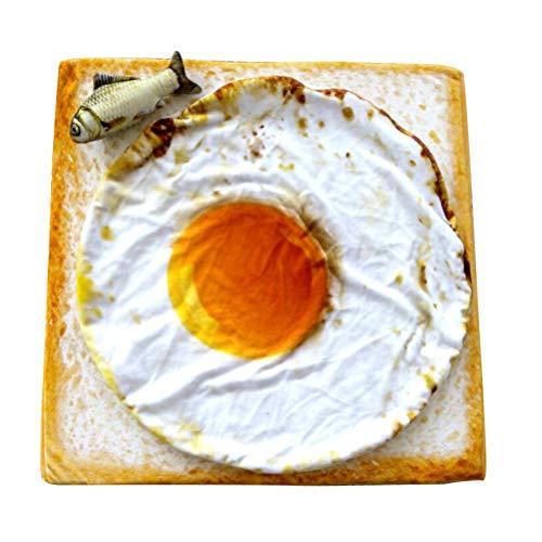POPETPOP Manta Mascotas Huevo Frito Novedad