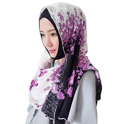 o Goodsatar Premium Viskose Maxi weich Crinkle Cloud Hijab Schal