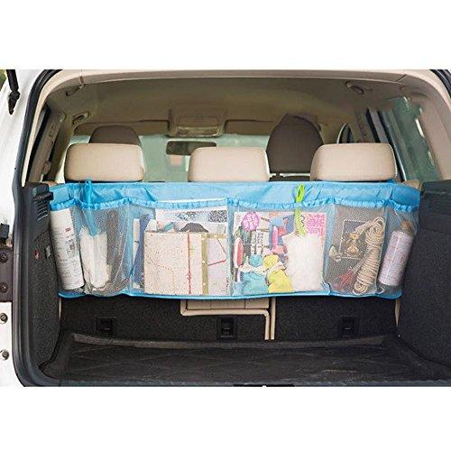 Preisvergleich Produktbild MMRMAutoAuto-RücksitzOrganizerMulti-TascheReiseAufbewahrungstasche für Spielzeug-Telefon iPhoneGadgets -Blau