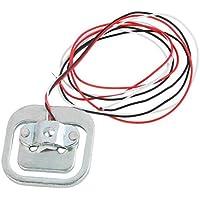 Elenxs 50kg Cuerpo de carga célula de pesaje de sujeción de resistencia del sensor Medio puente del sensor de presión de bricolaje
