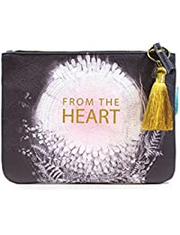 Pocket Clutch (From The Heart) By Papaya Art