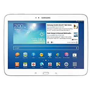 """Samsung Galaxy Tab 3 10.1 GT- P5220. 4G Tablette tactile 10.1"""" (25,40 cm) Intel Inside 1,6 GHz 16 Go Android Jelly Bean 4.2.1 Bluetooth Blanc"""