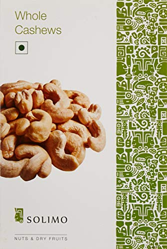 7. Solimo Premium Cashews