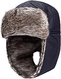 Wantdo Oreja Flap Impermeable Invierno Trooper Cazador de Nieve Sombrero a96ebb223e3