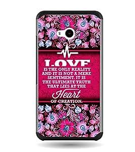Fuson Heart Of Creation Designer Back Case Cover for Microsoft Lumia 640 LTE (Love Quotes Inspiration Emotion Care Fun Funny)