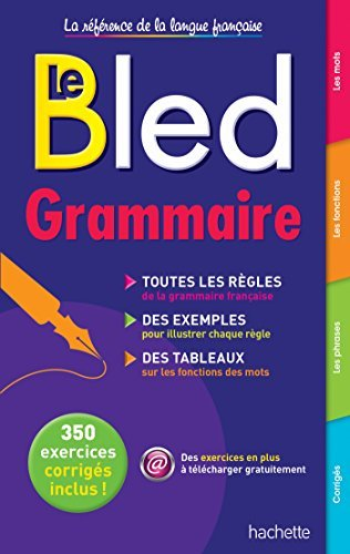 Le Bled Grammaire (French Edition) by Daniel Berlion (2015-01-14)