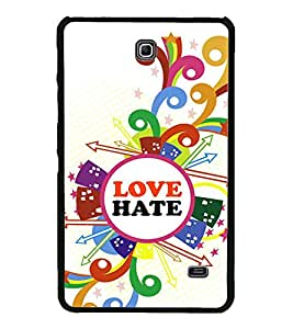 PrintVisa Designer Back Case Cover for Samsung Galaxy Tab 4 (7.0 Inches) T230 T231 T235 LTE (college school girls girly man manly romantic mood)