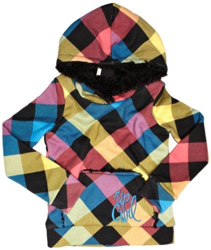 Board Kinder Sweatshirt (Rip Curl Kinder Kapuzensweater Board HUGS Fleece, solid Black, 140 cm, JFEPGF_1102)