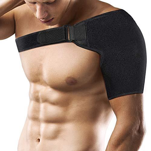 PINCOU Neopren Verstellbare Schulterbandage, Reduziere Schulterschmerzen. Schulterwärmer Passend für Linke und Rechte Schulter, für Männer & Frauen