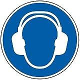 LEMAX® Gebotsschild Gehörschutz benutzen, ASR/ISO, Kunststoff, Ø 200mm
