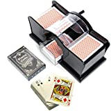 Brimtoy Manual playing card shuffler with cards