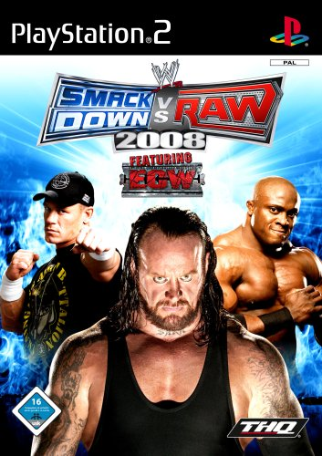 WWE Smackdown vs. Raw 2008 (Wrestling Ps2 Games)