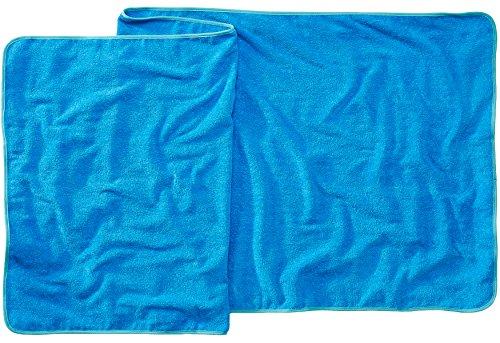 Sowel Telo da Sauna, Mare, Asciugamani da Bagno, 100% Cotone, 220 x 80 cm, Blu/Turchese