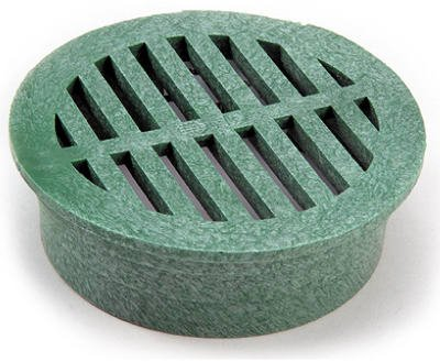 nds-3-inch-green-round-structural-foam-polyolefin-grate-with-uv-inhibitors